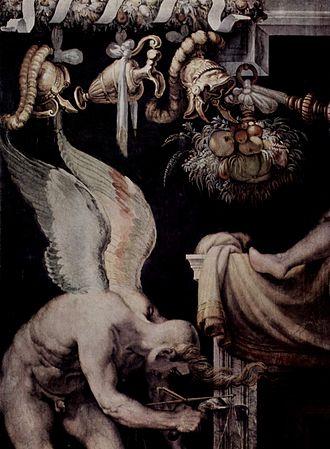 Kairos - Kairos as portrayed in a 16th-century fresco by Francesco Salviati