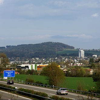 Frauenfeld - Frauenfeld from the west