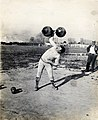 Fred Winters, New York, winner of the dumbbell competition at the 1904 Olympics.jpg