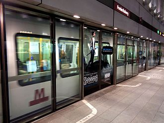 Frederiksberg Station - Frederiksberg Metro Station in Copenhagen
