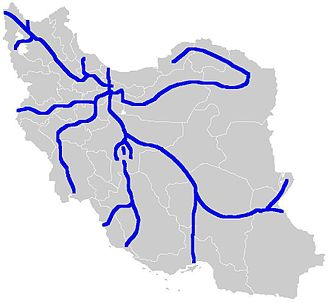 Freeways in Iran - Freeways planned and under construction