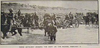 French's cavalry crossing the Modder River after charging to Klip Drift on their way to Kimberley French's Cavalry at Klip Drift.jpg
