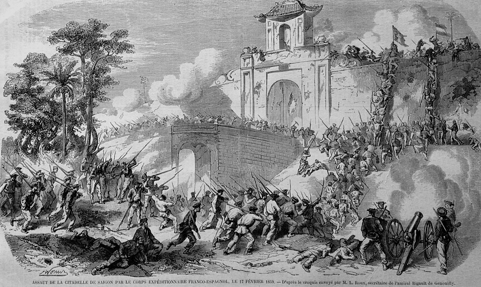 French capture of Saigon in 1859