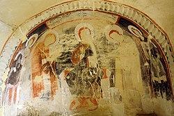 Fresco in David Gareja