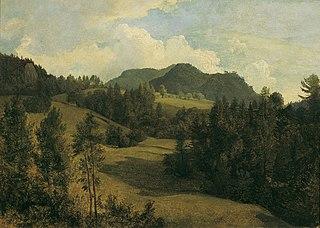 Landschaft bei Miesenbach