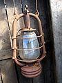 Fritzenwiese 51, Celle, Fischereibetrieb Nölke, 1b1, historische Petroleumlampe Ausstellungsstück.jpg