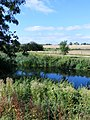 From the island at Wansford Lock - August 2013 - panoramio (2).jpg