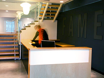 English: FAME office space