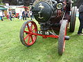 Front axle, Aveling and Porter light steam tractor, 'The Pirate', Abergavenny steam rally, 2015.jpg