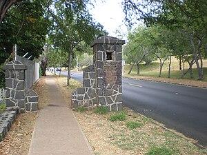 Fort Ruger - Image: Ft Ruger old gatepost