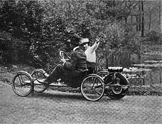 Fuel economy in automobiles - A 1916 experiment in creating a fuel-saving automobile in the United States. The vehicle weighed only 135 pounds (61.2 kg) and was an adaptation of a small gasoline engine originally designed to power a bicycle.