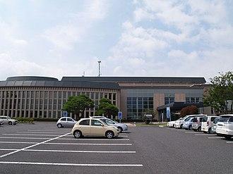 Fujikawaguchiko, Yamanashi - Fujikawaguchiko town hall