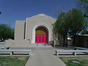 Glendale High School (Glendale, Arizona) - Historic Glendale High School Auditorium
