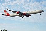 G-VWEB A340-600 Virgin Atlantic (14829121553).jpg