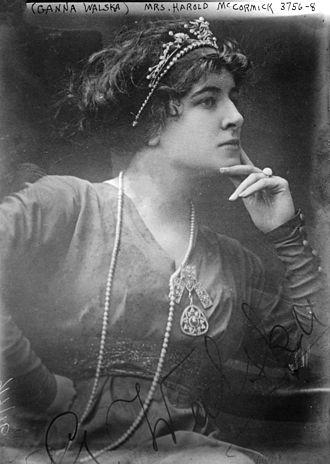 Ganna Walska - Ganna Walska after her marriage to Harold F. McCormick
