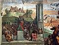 Garofalo, allegoria dell'antico e nuovo testamento con trionfo della chiesa sulla sinagoga, 1523, da s. andrea a ferrara 03.jpg