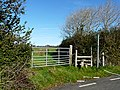 Gate and stile, Mountain Road - geograph.org.uk - 1202678.jpg