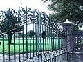 Gates to Porter-Gaud School (Charleston, South Carolina, 2006).jpg