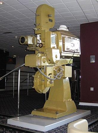 Gaumont British - Gaumont-Kalee GK21 35mm cine film projector, National Media Museum, Bradford