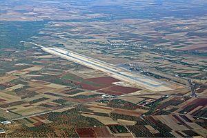 Oğuzeli Airport - Image: Gaziantep Airport Karakas 1