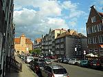 Gdańsk ulica Szeroka i Żuraw.JPG