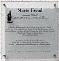 Gedenktafel Ansbacher Str 6 (Schön) Marie Freud.jpg