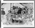 Gen. Sumner's conference with sultans of Bayang and Oato, at Camp Vicars, Mindanao, P.I. LCCN93506811.jpg