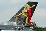 General Dynamics F-16AM J-002 (9168736225).jpg