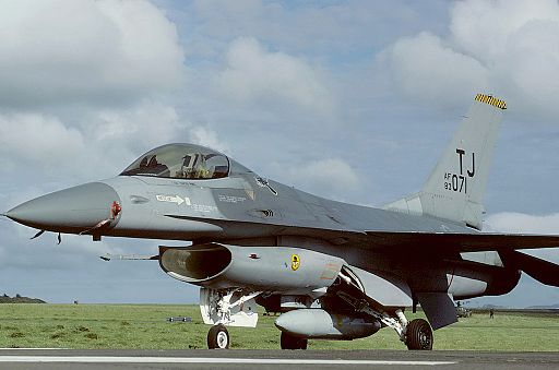 General Dynamics F-16A Fighting Falcon (401), USA - Air Force AN1647639