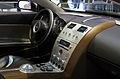 Geneva MotorShow 2013 - Aston Martin Jet2 Bertone steering wheel and center console.jpg