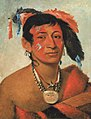 George Catlin - Sha-wá-no, The South, a Noted Warrior - 1985.66.222 - Smithsonian American Art Museum.jpg