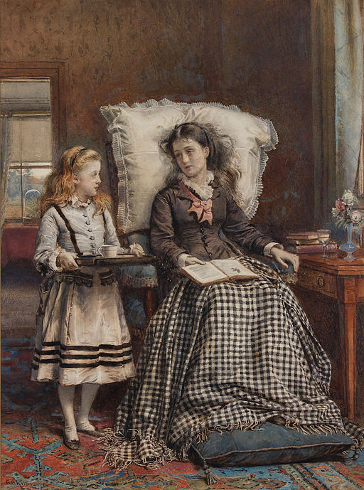 George Goodwin Kilburne The Nursemaid