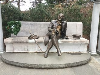 George Mason Memorial - Image: George Mason Memorial close up (December 2014)