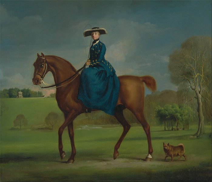 File:George Stubbs - The Countess of Coningsby in the Costume of the Charlton Hunt - Google Art Project.jpg