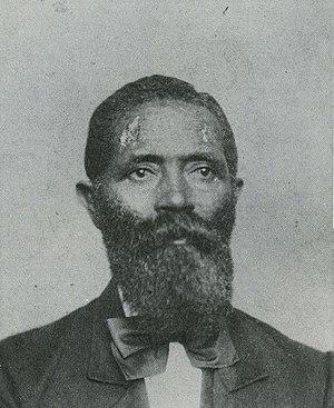 George Teamoh - Photo of George Teamoh, circa 1865
