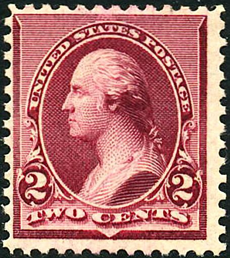 George Washington 1890 Issue Lake-2c