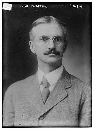 George Weston Anderson - Image: George Weston Anderson in 1916