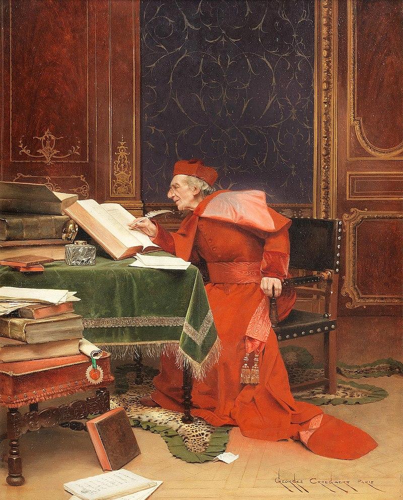 Жорж Крогарт - Тот scholar.jpg