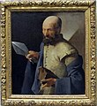 Georges de la tour, san tommaso con la lancia, 1640-1650 ca..JPG