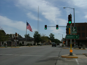 Georgetown, Illinois - Downtown Georgetown, 2007