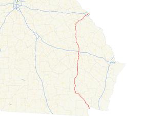 Georgia State Route 4 State highway in eastern Georgia