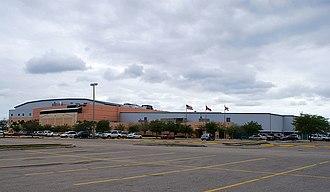 Hertz Arena - View of arena when it was Germain Arena