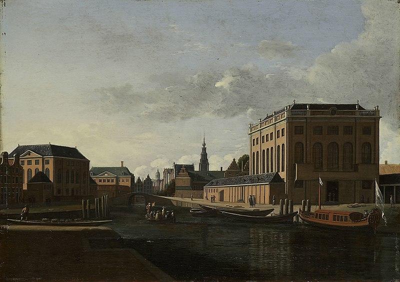 File:Gerrit Berckheyde - View of the Two Synagogues of Amsterdam 259.jpg