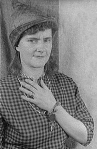 Gertrude Abercrombie - Abercrombie in 1951