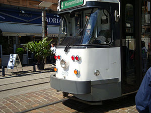 Trams in Ghent - Euro PCC 6202