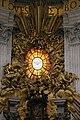 Gialorenzo bernini, cattedra di san pietro, 1656-65, 03.jpg