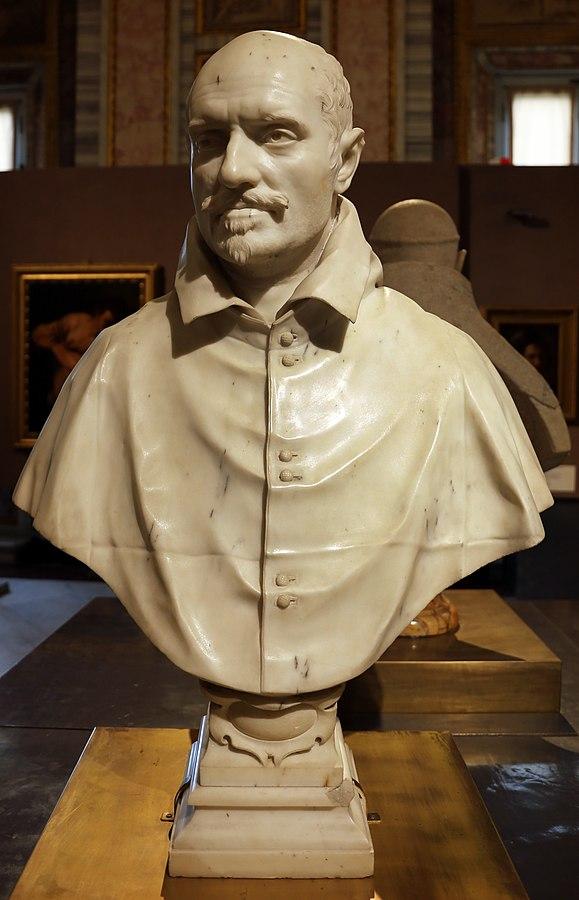 Bust of Cardinal Alessandro Peretti