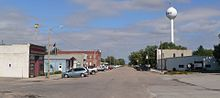 Giltner, Nebraska Commercial from Railroad 1.JPG