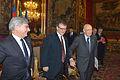 Giorgio Napolitano, Joseph H.H. Weiler and Pasquale Ferrara (12770052444).jpg