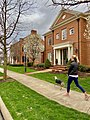 Girl Walking Dog in New Albany, Ohio.jpg